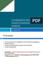 0-Fondements Des Radiocommunications Mobiles Plaqette