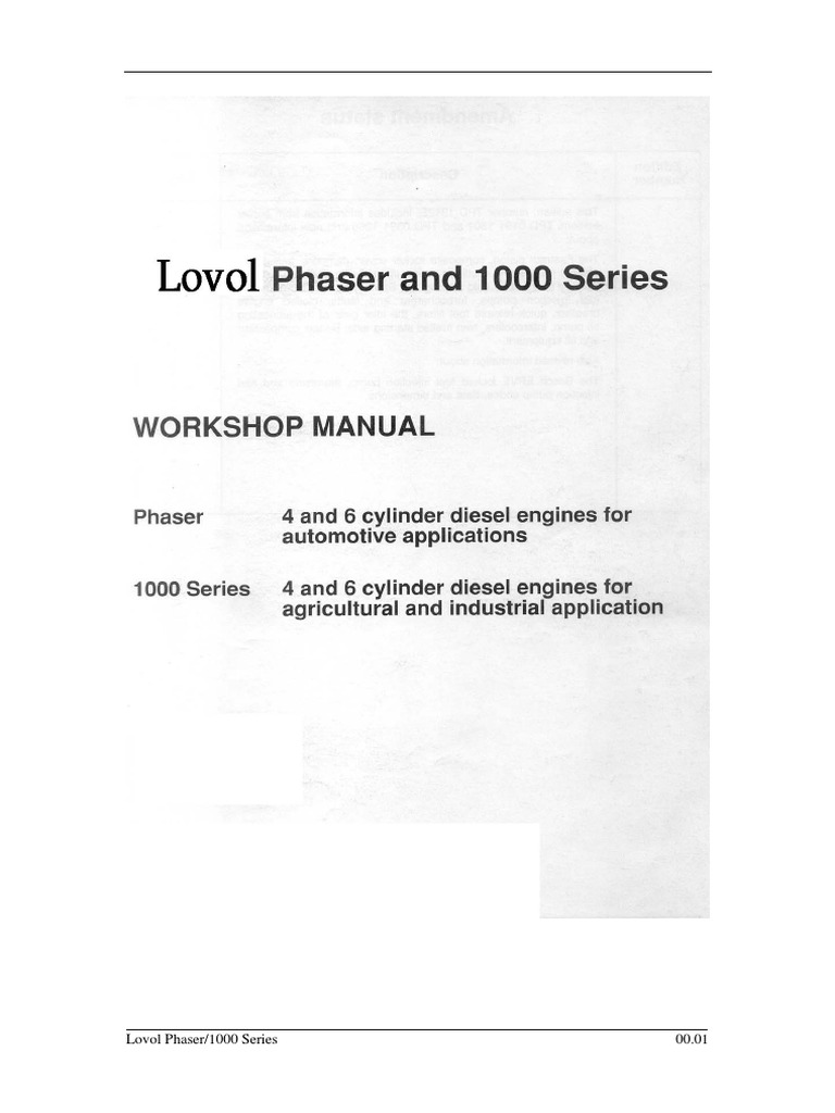 Lovol Workshop Manual Piston Vehicle Parts Tps On 60 Series Engine Schematics