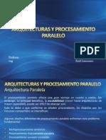 Arquitecturas y Procesamiento Paralelo