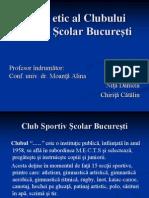 Codul Etic Al Clubului Sportiv Şcolar
