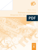 10 Bahasa Indonesia Buku Guru