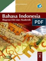 Buku Bahasa Indonesia Kelas 10 SMA Krikulum 2013 (Buku Siswa)