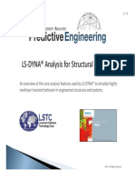 LS-DYNA Analysis for Structural Mechanics-Partial Note Set