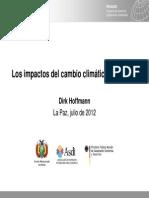 Impactos Del Cambio Climatico en Bolivia