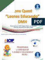 La juventud y Lions Quest 2014