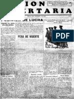 Acción Libertaria, Nº1. Sapetiembre 1933