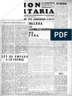 Acción Libertaria, Nº8. Octubre1934