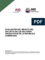 Evaluación Impacto DR-CAFTA en Sectores Productivos