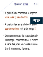 Characterization of quantum states