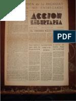 Acción Libertaria, Nº 76. Junio 1944-Fla