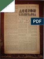 Acción Libertaria, Nº 79. Septiembre1944-Fla