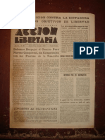 Acción Libertaria, Nº 80. Septiembre1944-Fla