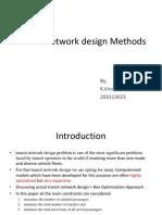 design of Transit Network