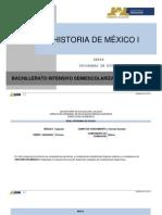 Historia de Mexico i 0