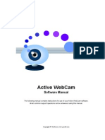 Active Webcam Manual