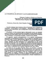 Oquist, Instituto, Colombianos - 1979 - La Violencia, El Estado y Las Clases Sociales Violencia, Conflicto