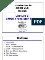 CMOS transistor theory