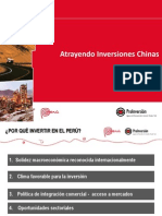 Atrayendo Inversiones Chinas