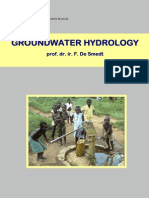 Groundwater Hydrology Part 1