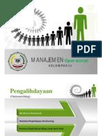 Manajemen Operasional Outsourcing
