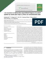 The Influence of Arbuscular Mycorrhizal Fungi on As