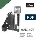 Mecablitz 60 Ct 1 manual