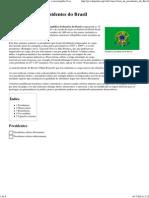 Anexo_Lista de Presidentes Do Brasil – Wikipédia, A Enciclopédia Livre