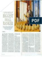 India Today Clipping bout microfinance