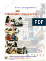 Conduct Competency Assessment 2012