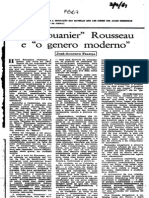 "O ""Douanier"" Rousseau e o ""genero moderno"""