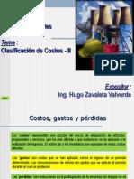 CI-05 - Clasificación de Costos - II