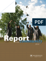 Report to the Community 2013