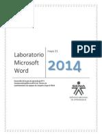 Lab Oratorio Microsoft Word