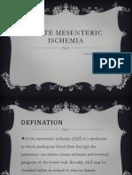 Acute Mesenteric Ishemia 2