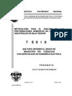 Metodologia Para El Analisis de Las Perturbaciones Armonicas en Los Sistemas Industriales en Baja