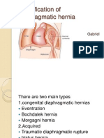 Diaphragmatic Hernias