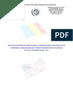 Metodologie Admitere 2012 2013