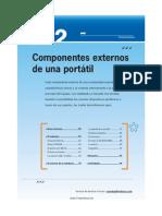 Componentes Externos de Una Portatil