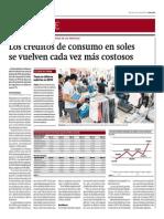 Créditos de Consumo en Soles Se Vuelven Cada Vez Más Costosos_Gestión 21-05-2014