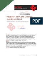 VIOLENCIA Y CONFLICTO. LA ESCUELA COMO ESPACIO DE PAZ.pdf