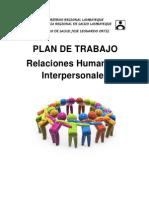 Plan de Trabajo de Relaciones Humanas