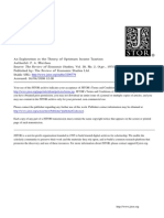 An Exploration in the Theory of Optimum Income Taxation