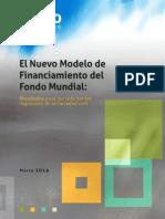 El Nuevo Modelo de Financiamiento del Fondo Mundial:Resultados para los solicitantes regionales de la sociedad civil