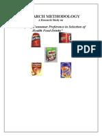 Health Drinks-Customer Buying Behavior