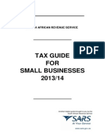 LAPD-IT-G10 - Tax Guide for Small Businesses - External Guide