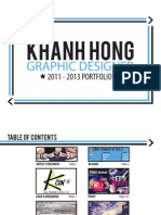 Graphic Design Portfolio 2011-2013