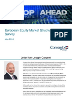 ConvergEx European Equity Market Structure Survey