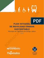 Plan Integral de Movilidad Urbana Sustentable