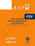 Plan Integral de Movilidad Urbana Sustentable