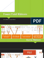power point ribbons